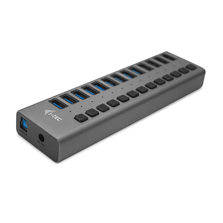 i-tec USB 3.0 Charging HUB 13port + Power Adapter 60 W