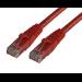 MCL RJ45 CAT6 A U/UTP 5m cable de red Rojo
