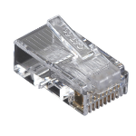 Black Box 50x Value Line Cat5e wire connector Transparent