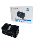 LogiLink USB Sound Box Dolby 7.1 8-Channel 7.1 channels