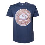 STAR WARS VII The Force Awakens Adult Male BB-8 Astromech Droid T-Shirt, Medium, Blue (TS204395STW-M)