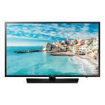 "Samsung HG43NJ477MFXZA hospitality TV 43"" Full HD Black 20 W"