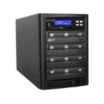 Aleratec 310109 media duplicator Optical disc duplicator 3 copies Black