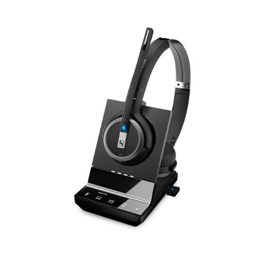 Sennheiser SDW 5066 - UK Binaural Head-band Black