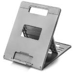 """Kensington SmartFit® Easy Riser™ Go Adjustable Ergonomic Laptop Riser and Cooling Stand for up to 14"""" Laptops"""