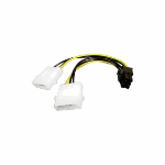Akasa AK-CB4-6 cable interface/gender adapter 4-pin PCIe