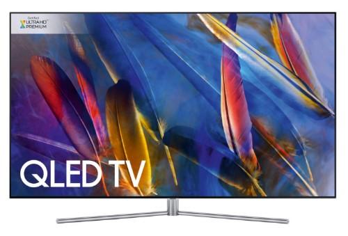 """Samsung Q7F QE55Q7FAMTXXU LED TV 139.7 cm (55"""") 4K Ultra HD Smart TV Wi-Fi Silver"""