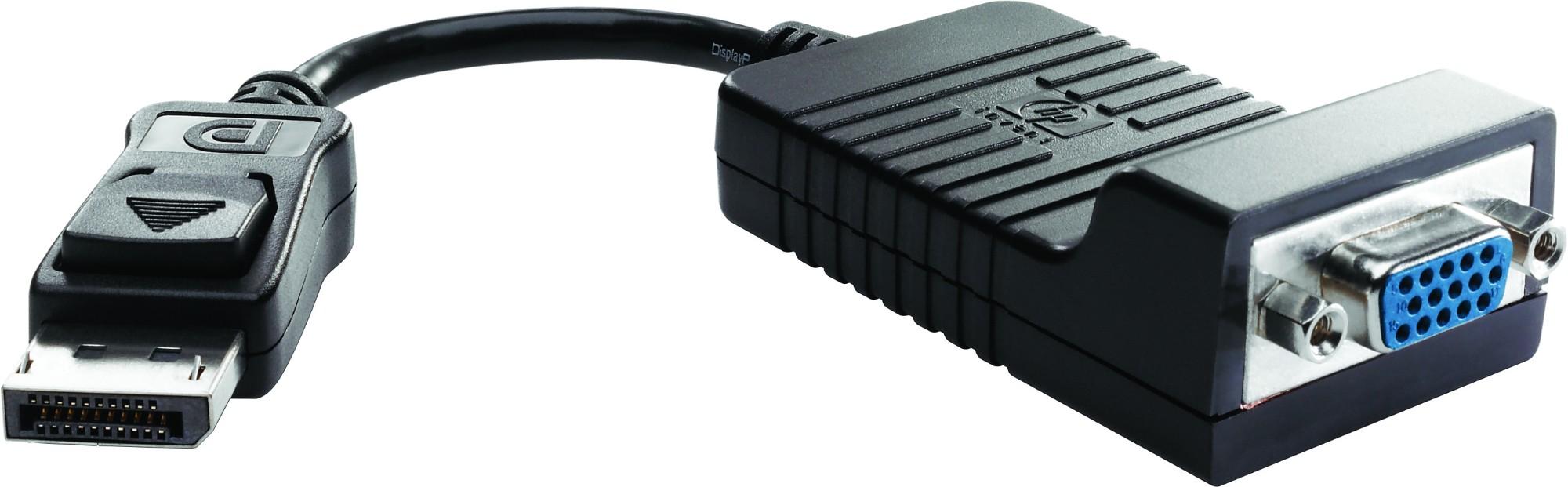HP DisplayPort-auf-VGA-Adapter