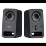 Logitech Z150 loudspeaker 6 W Black Wired