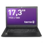"Wortmann AG TERRA MOBILE 1776P Black Notebook 43.9 cm (17.3"") 1920 x 1080 pixels 8th gen Intel® Core™ i7 8 GB DDR4-SDRAM 1240 GB HDD+SSD Windows 10 Home"
