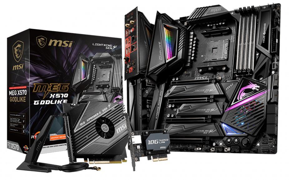 MSI MEG X570 GODLIKE MOTHERBOARD SOCKET AM4 EXTENDED ATX AMD X570