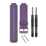 Garmin 010-12157-06 smartwatch accessory Band Purple Silicone
