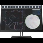 "HP Pantalla Z24i G2 de 24 pulgadas 61 cm (24"") 1920 x 1200 pixels WUXGA LED Black"