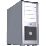 Silverstone FT01S Fortress Full-Tower Silver computer case