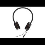 Jabra Evolve 20 UC Stereo Headset Head-band Black