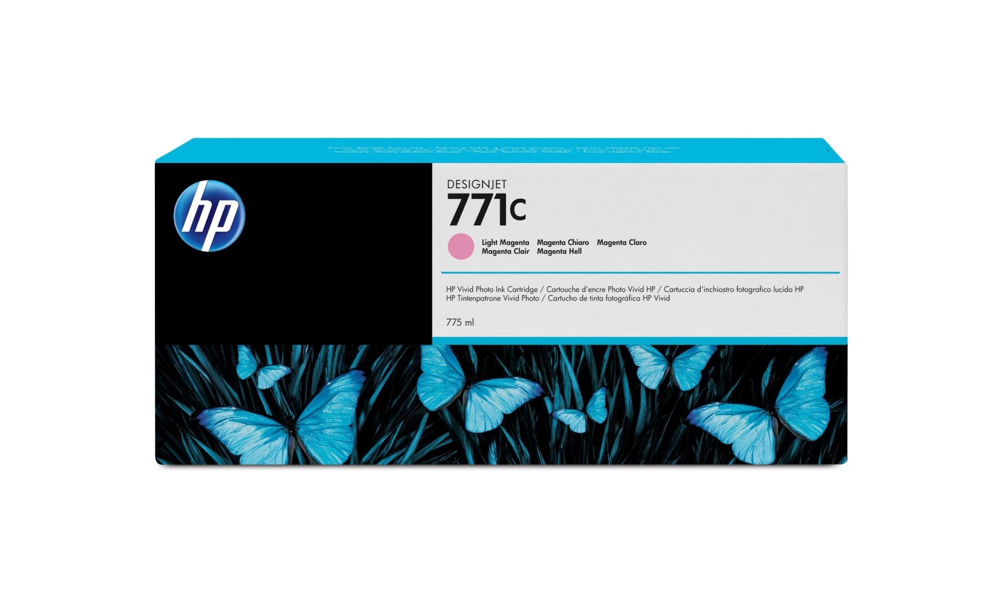 HP 771C Original Magenta claro