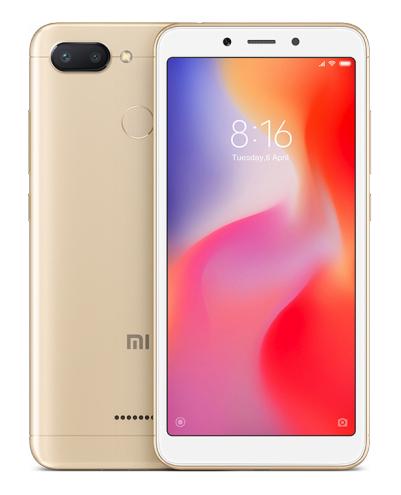 "Xiaomi Redmi 6 13.8 cm (5.45"") 3 GB 32 GB Dual SIM Gold 3000 mAh"