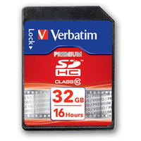 Verbatim Premium 32GB SDHC Class 10 memory card