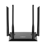 Edimax BR-6476AC wireless router Dual-band (2.4 GHz / 5 GHz) Fast Ethernet Black