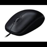 Logitech M90 Maus USB Optisch 1000 DPI Beidhändig