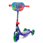 PJMASKS Kid's Three Wheel Tri Scooter with Adjustable Handlebar and Front Plate (OPJM110)