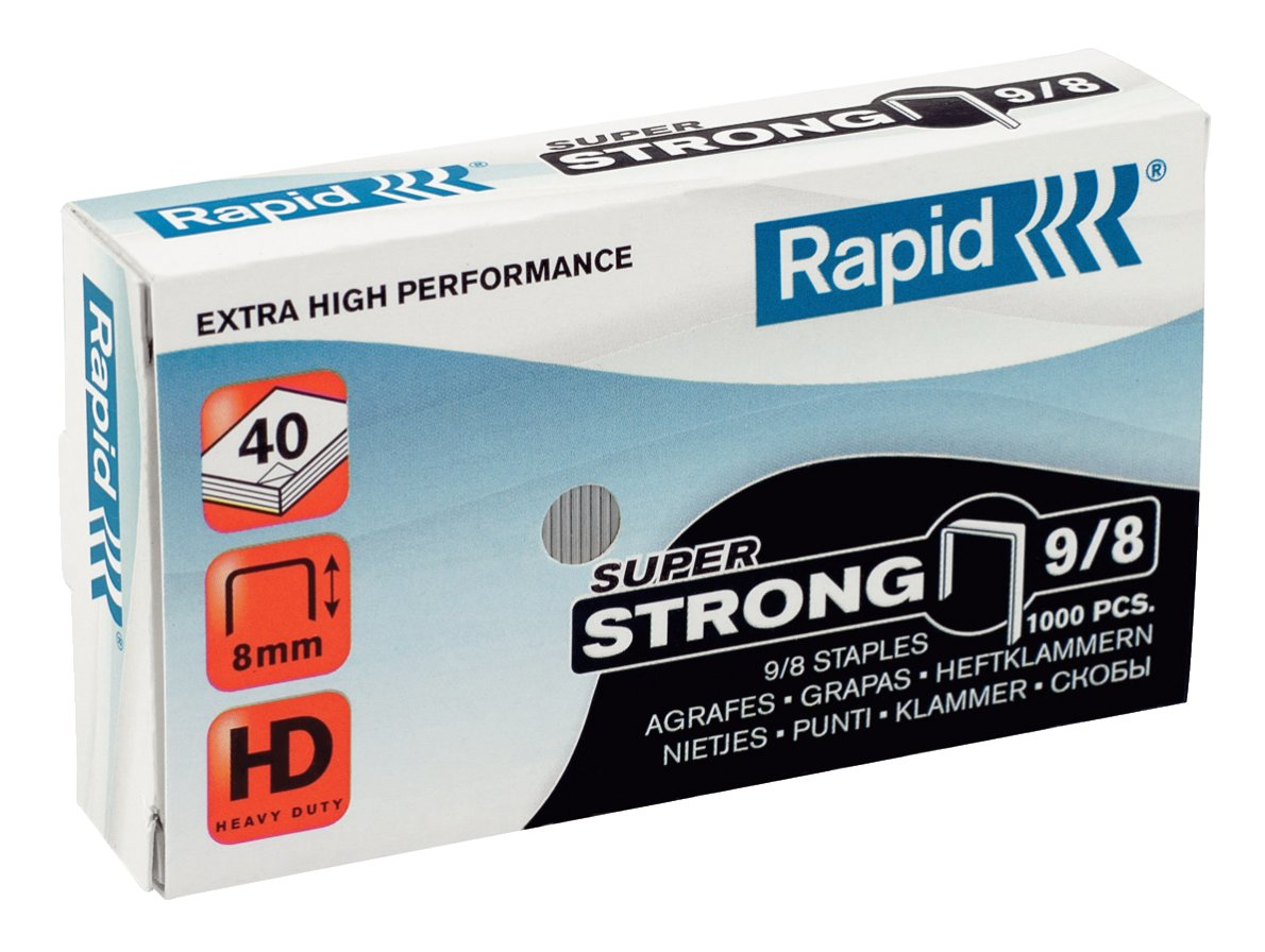 Rapid 9/8 Staples pack 5000 staples