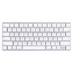 Apple MLA22LB/A Bluetooth QWERTY US English Silver,White keyboard