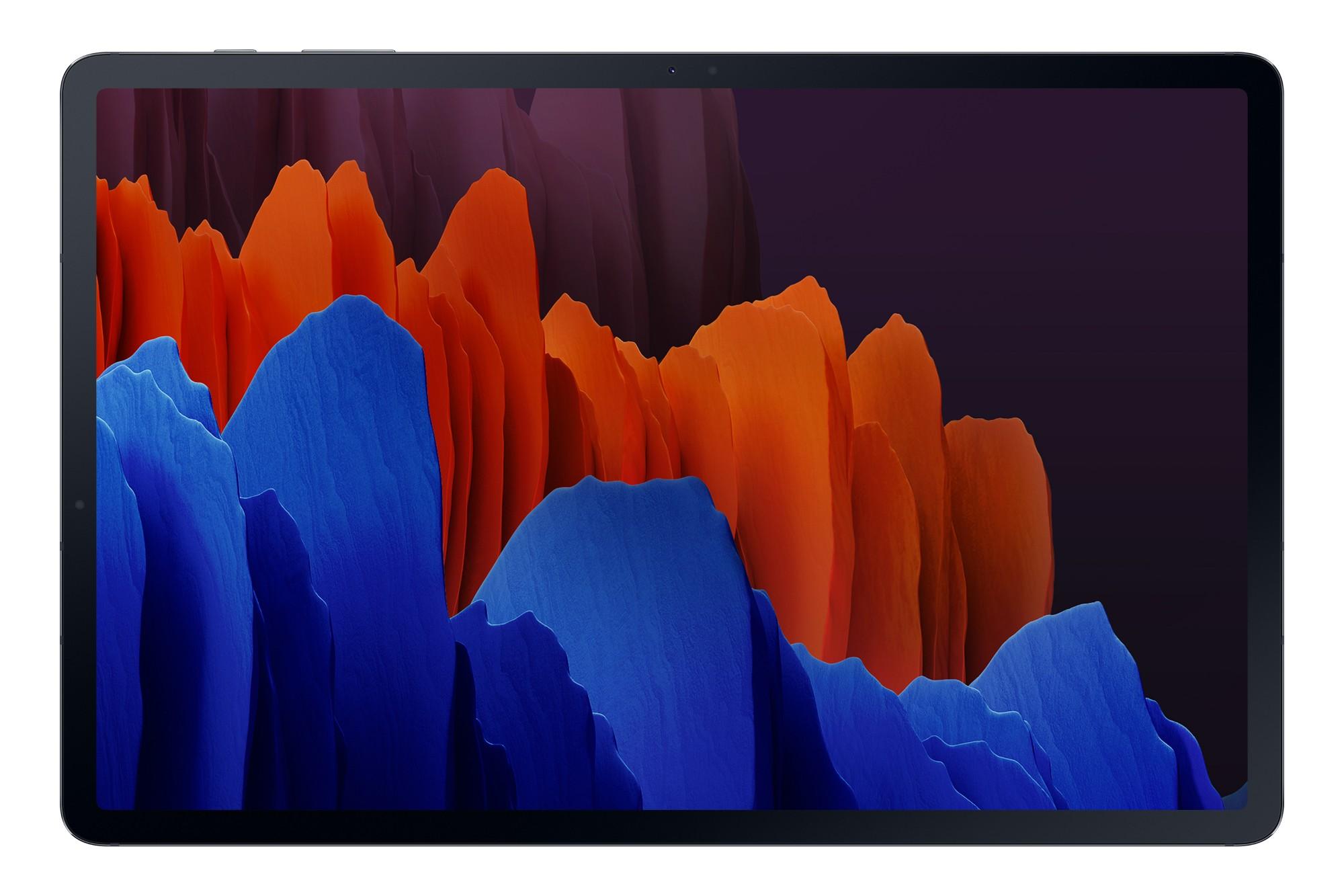 "Samsung Galaxy Tab S7+ 5G SM-T976B LTE 128 GB 31.5 cm (12.4"") Qualcomm Snapdragon 6 GB Wi-Fi 6 (802.11ax) Android 10 Black"