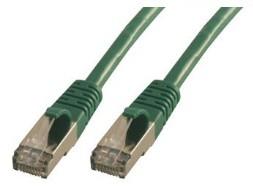 MCL FCC6ABM-2M/V cable de red Verde