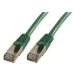 MCL FCC6ABM-2M/V cable de red Verde