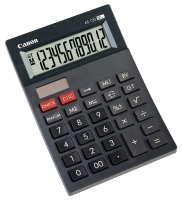 Canon AS-120 calculator Pocket Display Gray