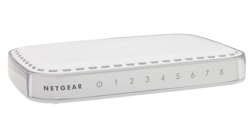 Netgear GS608-400PES switch No administrado L2 Gigabit Ethernet (10/100/1000) Blanco