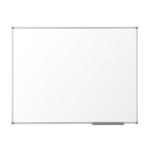 Nobo Pizarra blanca Basic no magnética melanina 1200x900 mm con marco básico