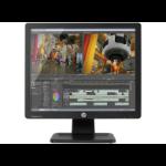 """HP ProDisplay P17A 17"""" 1280 x 1024 pixels LED Black"""