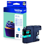Brother LC-123C Ink cartridge cyan, 600 pages, 6ml
