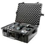 Peli 1600 equipment case Briefcase/classic case Black