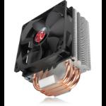 RAIJINTEK Themis Processor Cooler 12 cm Black, Copper, Metallic