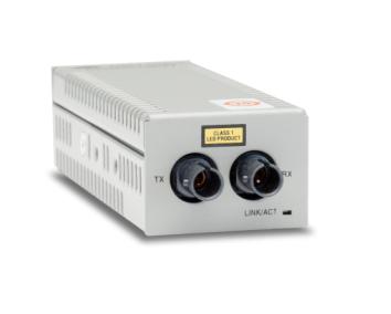 Allied Telesis AT-DMC100/ST 100Mbit/s 1310nm Multi-mode Grey network media converter