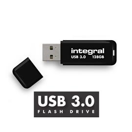 Integral 128GB USB 3.0 128GB USB 3.0 (3.1 Gen 1) Type-A Black USB flash drive