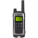 Motorola TLKR-T80 8channels 12500MHz Black, Silver two-way radio