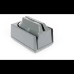 MagTek MiniMICR Check Reader magnetic card reader USB Gray