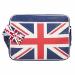 """Urban Factory Vintage Messenger Laptop Bag 12.5"""" UK Flag"""