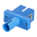 Black Box FOT113 fiber optic adapter SC/ST 1 pc(s) Blue