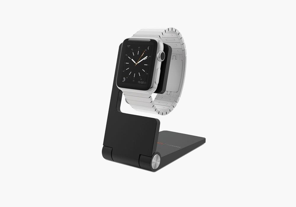 Cygnett OnCharge Mini Watch stand Black