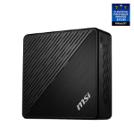 MSI Cubi 5 10M-035EU 10th gen Intel® Core™ i5 i5-10210U 8 GB DDR4-SDRAM 256 GB SSD Mini PC Black Windows 10 Pro