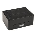 Tripp Lite U339-E02 storage drive docking station USB 2.0 Type-B Black