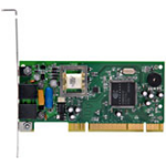 Zoom V.92 Controllerless PCI Modem