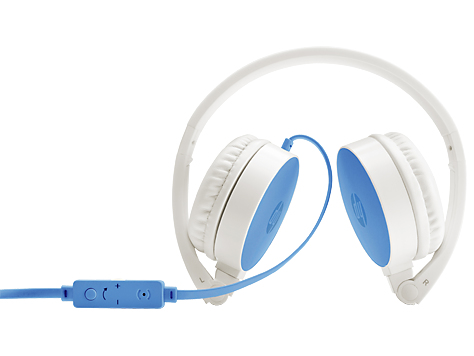 HP H2800 Blue Headset headset