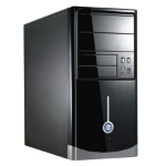 Spire 1015 Micro-Tower 500W Black computer case
