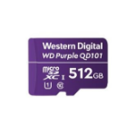 Western Digital WD Purple SC QD101 memory card 512 GB MicroSDXC Class 10 WDD512G1P0C